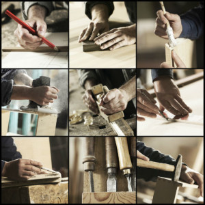 woodworking collage